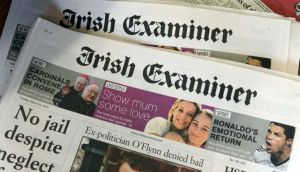 The Irish Times    has taken over the printing of the  Irish Examiner and the Evening Echo
