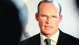 Simon Coveney insisted today that Irish savings are safe and will not be targeted. Photograph:  Eric Luke/The Irish Times