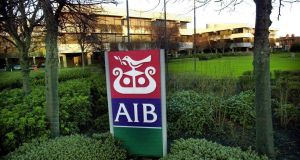 AIB Headquarters in Ballsbridge Dublin. Photograph: Bryan O'Brien