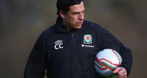 Wales manager Chris Coleman. Photographs: Michael Steele/Getty Images