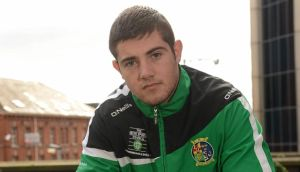 Iirsh boxer Joe Ward, who will retain his grant of ¤40,000 for the next 12 months. Photograph: Oliver McVeigh/Sportsfile