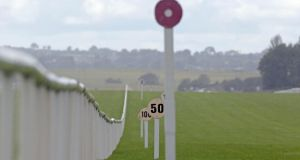 A general view of the Curragh racecourse. Photograph: Inpho