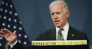 US vice president Joe Biden has urged a resolution to the illegal immigrant issue