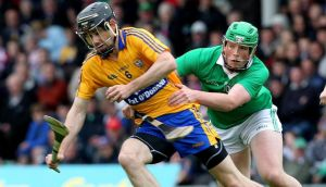Captain  Patrick Donnellan is delighted Clare will be testing themselves against standard-setters Kilkenny this weekend. Photograph:  Lorraine O'Sullivan/Inpho