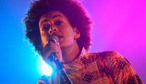 Singer Solange performs onstage at the Hype Hotel during the 2013 SXSW Music, Film + Interactive Festival at Long Center in Austin, Texas. (Photo by Rita Quinn/Getty Images for SXSW)