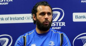 Leinster's Isa Nacewa back after injury. Photograph: Lorraine O'Sullivan/Inpho