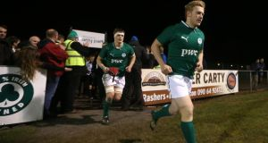 Ulster's Stuart Olding playing for the IrelandU-20 tea. James Crombie/Inpho