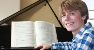 Conductor Killian Farrell (19) prepares for an ambitious Dublin performance of Bach's St Matthew Passion.
