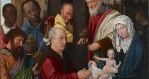 From the exhibition Revealing the African Presence in Renaissance Europe: a detail of Adoration of the Magi, from the workshop of Gerard David in about 1514. Photograph: Princeton University Art Museum