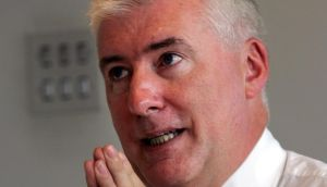 Pat Farrell, who has been appointed BoI head of Communications. Photograph: Eric Luke