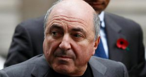 Russian oligarch Boris Berezovsky pictured outside the High Court in London  in 2011. Photograph: Andrew Winning/Reuters