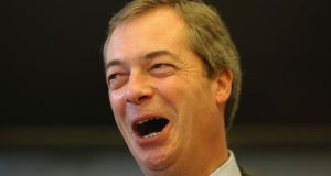 Ukip leader Nigel Farage told the party's spring conference new immigrants in the UK should have no access to council housing for five years. Photograph: Getty Images.