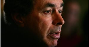 "Minister for Justice Alan Shatter. Micheál Martin says he needs to ""change his approach very quickly"" if Garda morale is to improve.  Photograph: Bryan O'Brien"