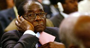 Zimbabwe's President Robert Mugabe remains on the EU sanctions list. Photograph: Alessandro Bianchi/Reuters