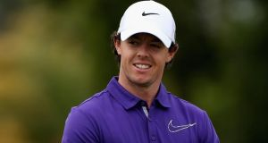 Rory McIlroy returns to action at the Shell Houston Open on Thursday. Photograph: Warren Little/Getty Images