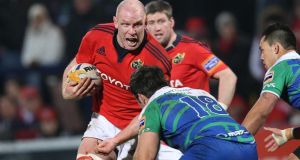 Paul O'Connell:  Lions captain four years ago