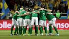 Team Ireland: can beat Austria at the Aviva