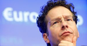 Eurogroup president Jeroen Dijsselbloem's comments caused heavy financial market volatility.