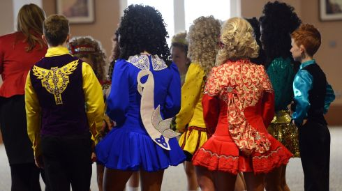 Different styles  of dress. Photograph: Cyril Byrne/Irish Times