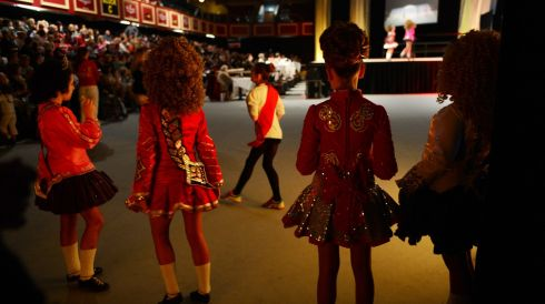 Waiting in the wings. Photograph: Cyril Byrne/Irish Times