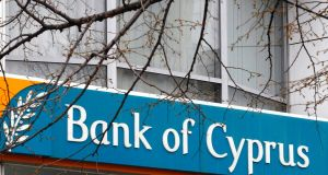 Andreas Artemis  the chairman of Bank of Cyprus has submitted his resignation. Photograph: Bogdan Cristel/Reuters