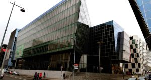 4 Grand Canal Square: Facebook in negotiations. Photograph: David Sleator/The Irish Times