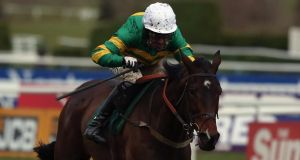 AP McCoy rides Alderwood to victory in the Johnny Henderson Grand Annual Chase Challenge Cup  at Cheltenham. Photo: Andrew Redington/Getty Images
