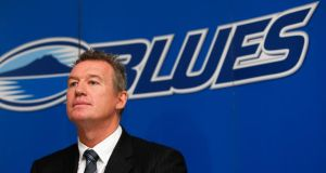 Former New Zealand great John Kirwan, the current  coach of the Auckland Blues was open regarding his own mental health issues in his book. Photograph: Getty Images.