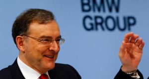 "BMW CEO Norbert Reithoffer: ""Our business performance is exposed to many risks."" Photo: Reuters"