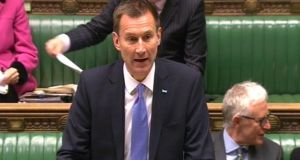 "British health secretary Jeremy Hunt told the House of Commons ""terrible things happened"" at  Mid-Staffordshire Hospital where patients suffered and ""died unnecessarily"". Photograph: PA Wire"