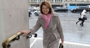 Minister for Social Protection Joan Burton wanted to reassure recipients of the fuel allowance during the cold snap. Photograph: Alan Betson / THE IRISH TIMES