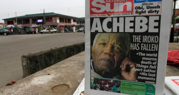 Chinua Achebe's battle with Irish prejudice