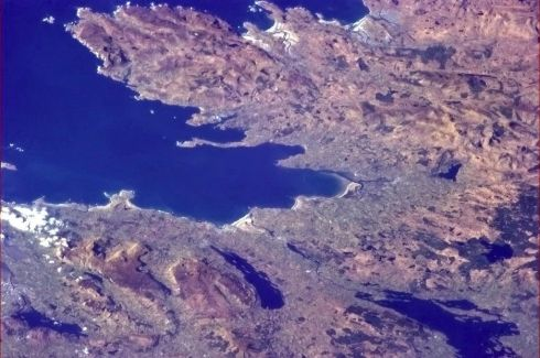 Donegal, one of the many famous places I've only seen from space. Photographs: Chris Hadfield
