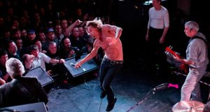 Iggy and the Stooges performing at Mohawk during the South By Southwest festival in Austin, Texas this month. Photograph: Josh Haner/The New York Times