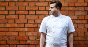 Karl Whelan, head chef at Fade Street Social, Dublin. Photograph: Alan Betson