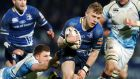 Leinster's Ian Madigan runs in for a try against Glasgow last Saturday night. Photograph: Dan Sheridan/Inpho.