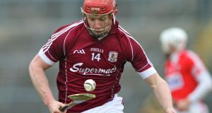 Galway's Joe Canning is the leading scorer in the league with a tally of 2-35. Photograph: Mike Shaughnessy/Inpho