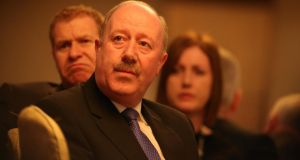Garda  Commissioner Martin Callinan at the  AGSI conference in Sligo this week.