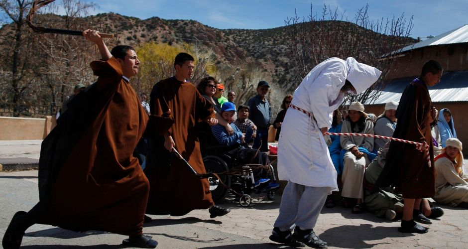 Easter week religious ceremonies