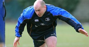 Richardt Strauss returns to the Leinster side for the game with Ulster at the RDS. Photograph:  Lorraine O'Sullivan/Inpho