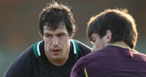 Secondrow Mike McCarthy will start for Connacht against Treviso in Italy. Photograph: Billy Stickland/Inpho
