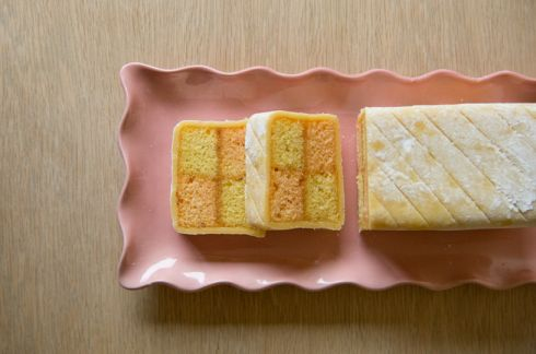 Enjoy a slice of delicious Battenberg cake with a well earned cup of tea.  Photographs: Shane O'Neill