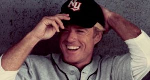 Robert Redford as baseball player Roy Hobbs in the film 'The Natural'. Photograph: Getty