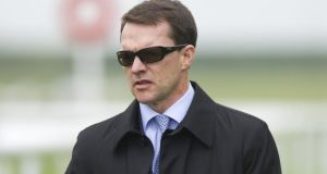 Aidan O'Brien saddles St Nicholas Abbey. Photograph: Getty