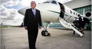 Bertie Ahern: annual subsistence money will plummet from €150,163 to €142,655. Photograph: Bryan O'Brien
