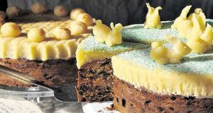 Eunice Power's Simnel cake