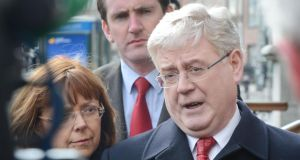 Eamon Gilmore insists his postion as party leader is not under threat. Photograph: Alan Betson / THE IRISH TIMES