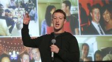"Mark Zuckerberg, chief executive of Facebook. The emergence of a new wave of high-profile young entrepreneurs globally, such as Zuckerberg, has enhanced the willingness of young people to ""give it a go"" early in their career, often straight out of college. Photograph: The New York Times"