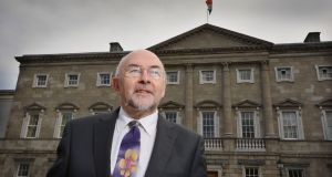 Minister for Education Ruairi Quinn expects Catholic Bishops to cooperate in identifying suitable primary schools for the transfer of patronage. Photograph: Alan Betson / THE IRISH TIMES