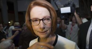 Australian prime minister Julia Gillard has promised to crack down on abuse of the 457 visa scheme, which allows foreign workers to fill specific skills gaps in Australia. Photograph: Andrew Taylor/AP